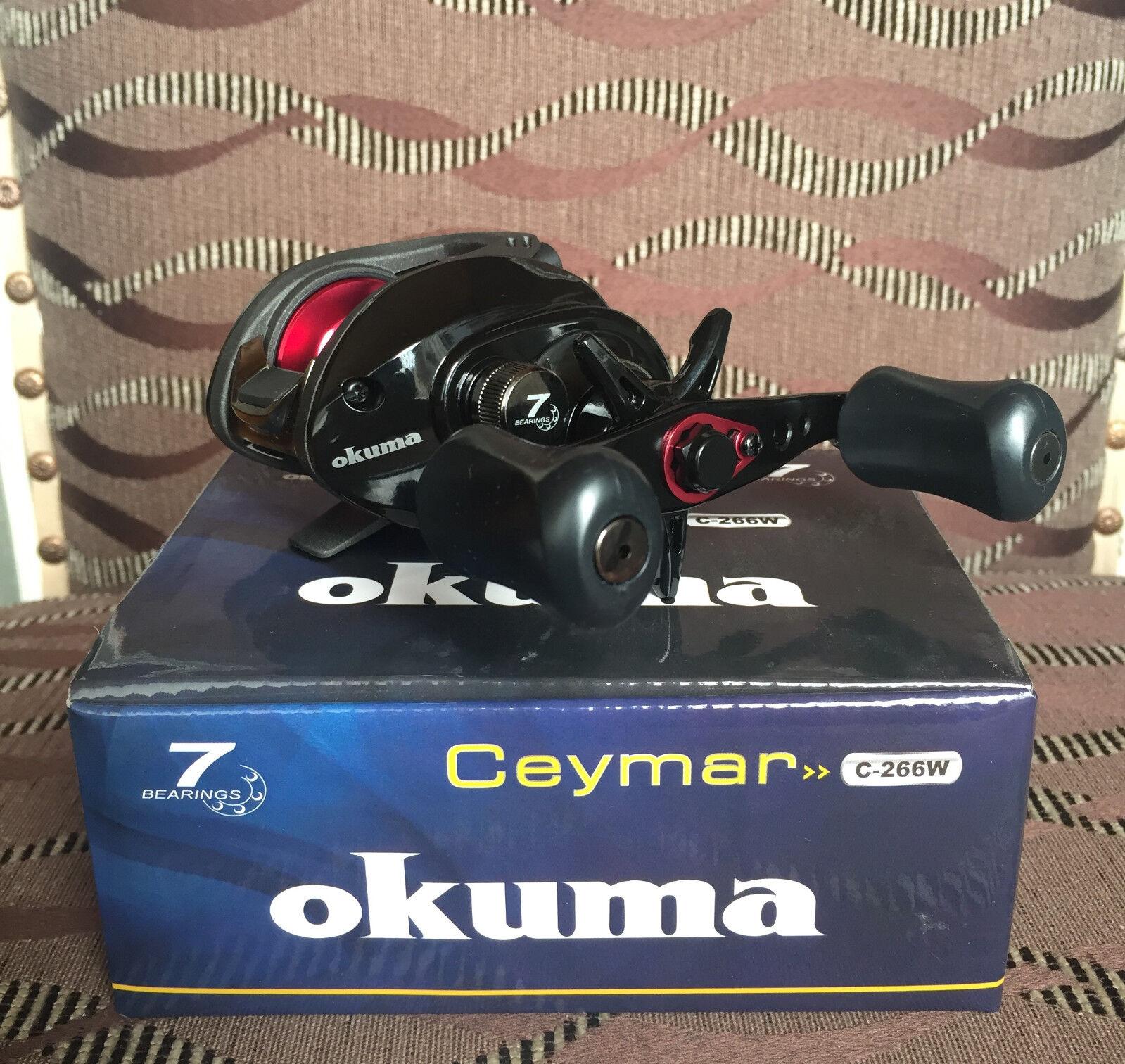 Okuma Ceymar C-266W Rechtehand Baitcaster Multirolle