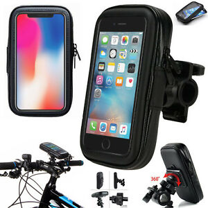 huge discount 4aaa1 9cde8 Details about Bike Bicycle Mount Holder Phone Case Bag For iPhone 6 6S 7 8  X 10 XS 5 5S SE 5C