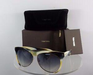 f4764178bfa Brand New Authentic Tom Ford Sunglasses TF365 Leona TF 365 Horn FT ...