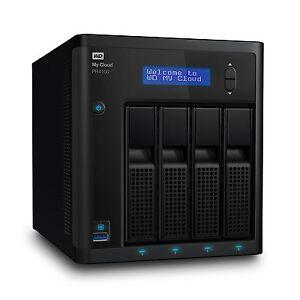 Wd-32tb-My-Cloud-Pr4100-Pro-Series-Media-Server-With-wdbnfa0320kbknesn