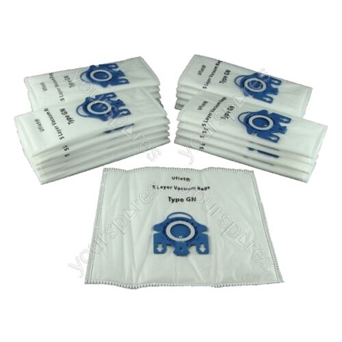 Pack Of 20  Miele S521 Vacuum Bags Type GN *Free Delivery*