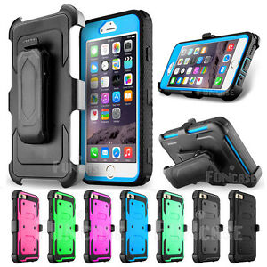 buy online 2ceea 14745 For Apple iPhone 6s Plus Belt Clip Holster Rugged Armor Rubber ...
