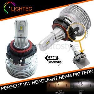 VW-Tiguan-senza-ventola-H7-LED-HEADLIGHT-Bulbs-KIT-CANBUS-ERROR-FREE-Plug-amp-Play