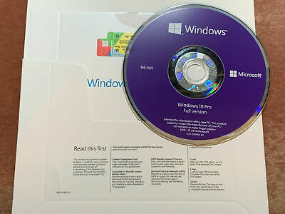 WINDOWS 10 PROFESSIONAL PRO X64 BIT INSTALLATION DVD and ...