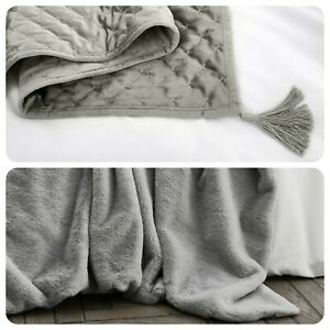By-Caprice-Home-Silver-Luxury-Supersoft-Bedspread-Throws