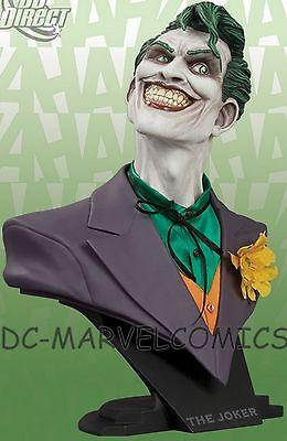 DC DIRECT JOKER 1:2 SCALE BUST  W/BOX BATMAN Animated Statue The DARK KNIGHT