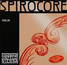 Spirocore 4/4 Violin A String: Med Chromesteel/Steel
