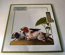1940's Hunting Dogs EVERETT Washington advertising THERMOMETER mirror *
