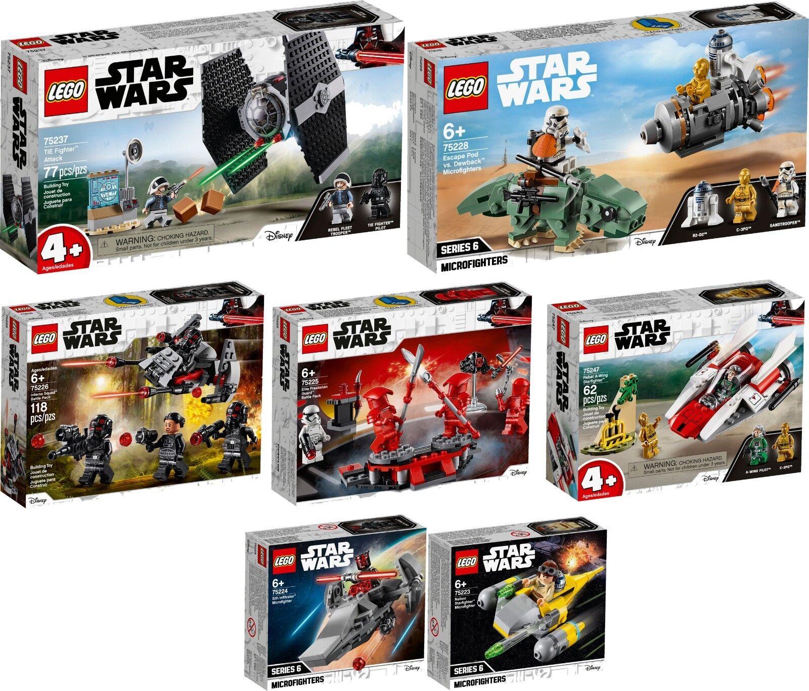 LEGO STAR WARS 75237 75228 75226 75225 75224 75223 75247 N1/19 VORVERKAUF