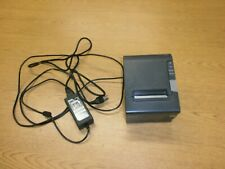 New Listingepson Tm T88v Pos Thermal Printer Model M244a And Power Supply