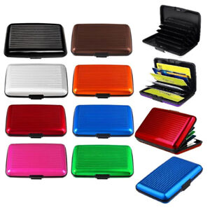 Waterproof-Case-Box-Business-ID-Credit-Card-Wallet-Holder-Aluminum-Metal-Pocket