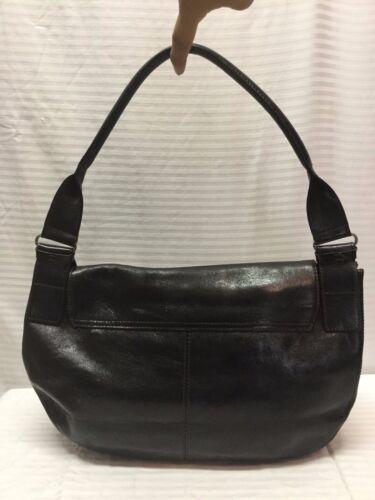 Handtasche Aus Cole Kenneth Schwarze Leder qfC8zUwE8