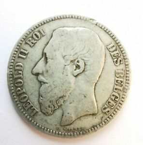 Coin Silver 2 Francs France 1868. (AD1308)