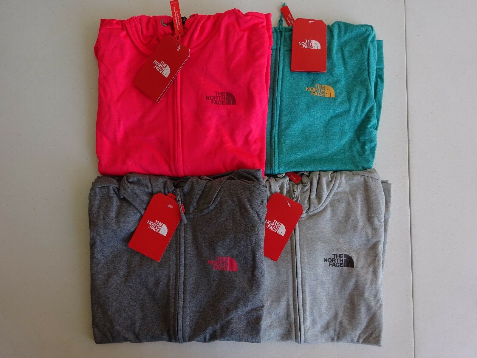 North Face Women's Fave Lite LFC Full Zip Hoodie Winter 2018 NWT