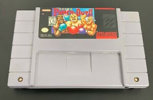 Super-Punch-Out-Nintendo-SNES-1994-Video-Game-Authentic-TESTED-amp-Cleaned