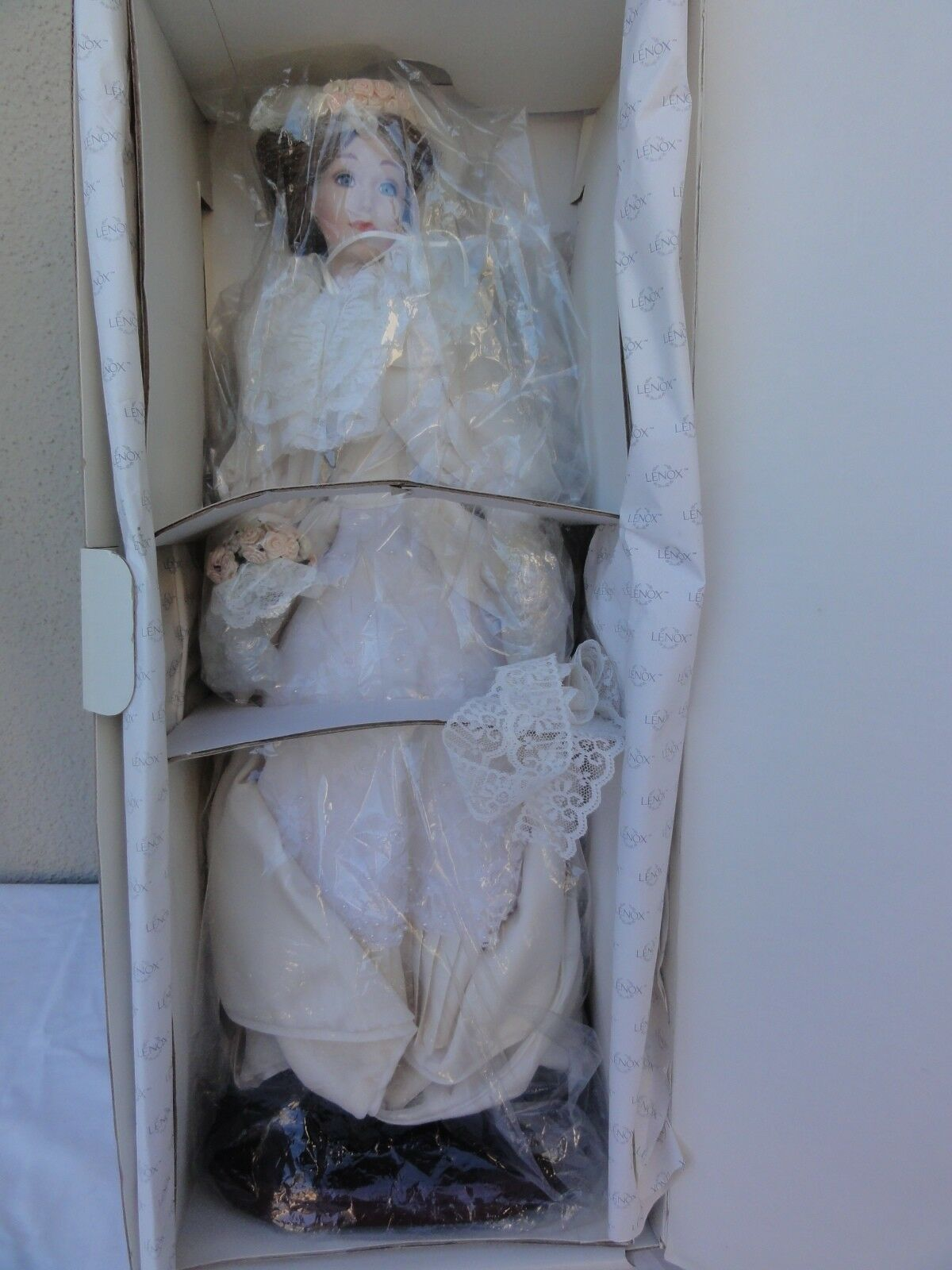 Lenox 22  Victorian Bride Doll - First Creation by Lenox 1989 In Box