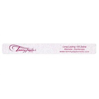 Tammy Taylor Nail Files - Long Lasting 100 Zebra - WS100 - 5 Pack
