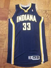 Danny Granger Indiana Pacers navy game issue/worn jersey