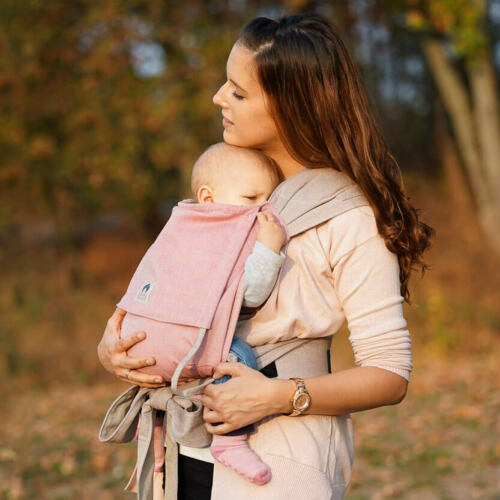 LIMAS BabytrageRosa//BeigeNeues Modell 2018Baby Carrier