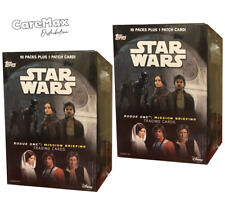 2016 Topps Star Wars Rogue One Mission Briefing Blaster  (2 Box Lot)