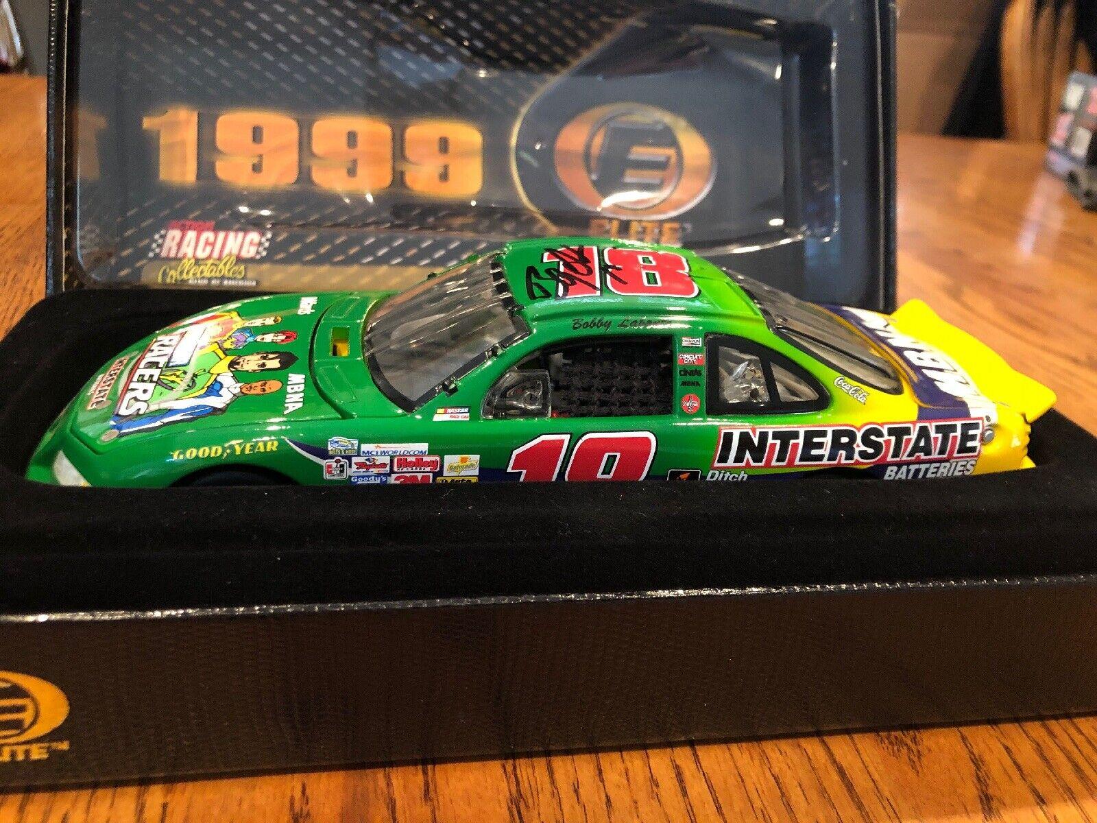 1999 Bobby Labonte AUTOGRAFATO  18 Interstate Batteries NASauto Racing Collectables CLUB OF AMERICA 1 24 Elite