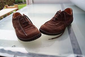 Marc-Naturaleza-Comodidad-Zapatos-con-Depositos-Gr-41-Unisex-Gamuza-Braun-Top-7