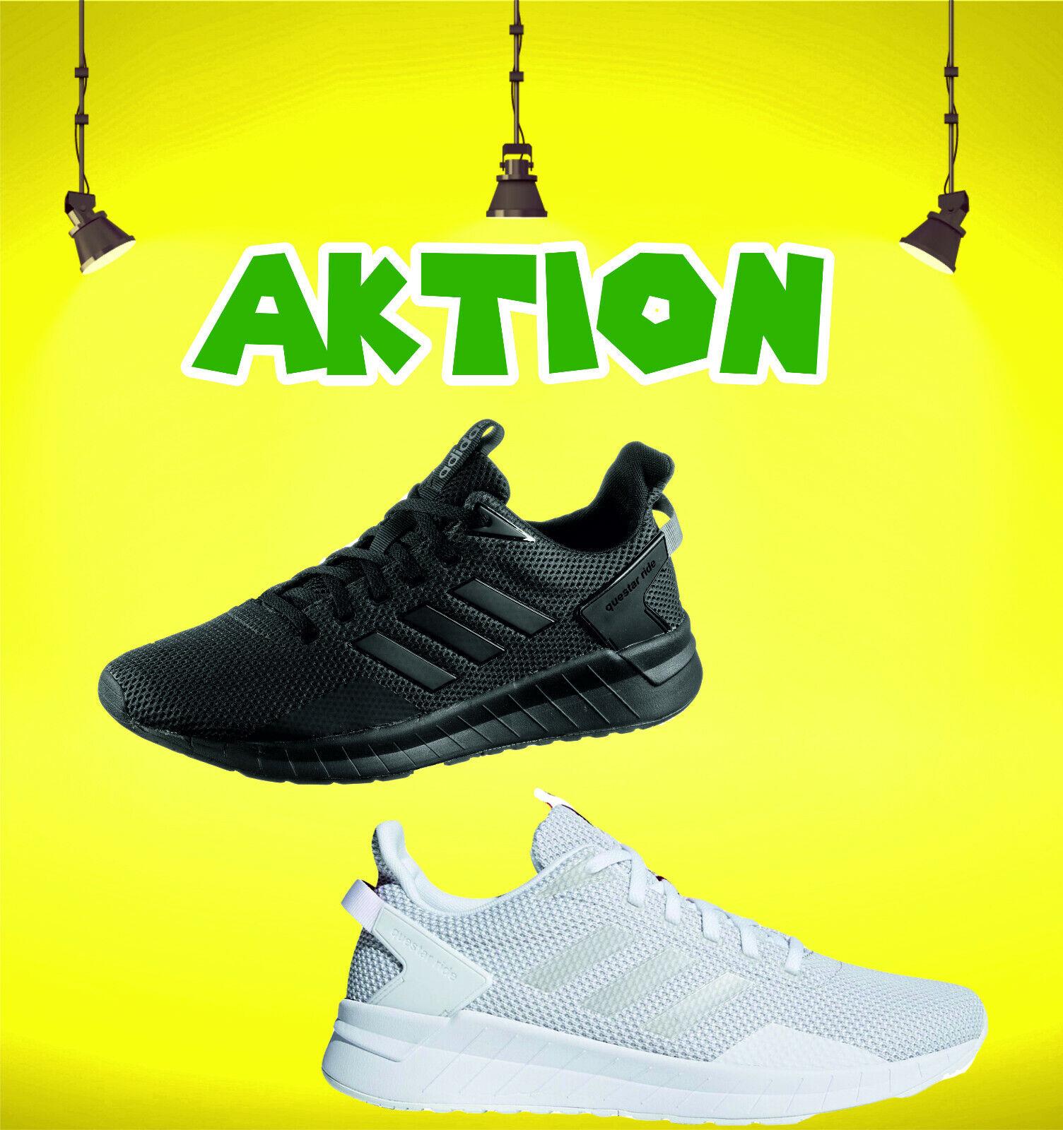 Questar Adidas Ride schwarz weiß oder Herren Laufschuhe
