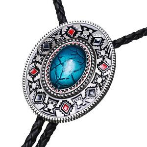 Western Style Native American Bolo Tie Antique Silver ... |Bolo Western Artwork