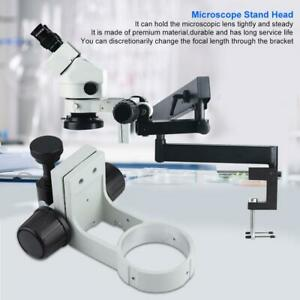50mm-1-97in-Stereo-Microscope-Bracket-Diameter-76mm-Focusing-Bracket-with-Tail