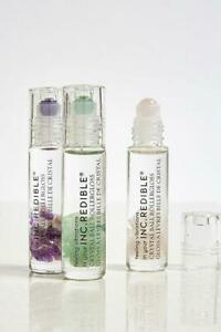 Inc Redible Makeup Roller Ball Lip Gloss High Shine Infused Real Quartz Crystals Ebay