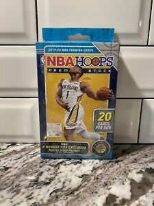 * 2019-20 Panini NBA Hoops Premium Stock Hanger Box Sealed * Basketball Zion Ja