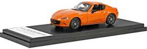 Hi Story 1/43 MAZDA ROADSTER RF 30th Anniversary Edition Racing Orange rempli