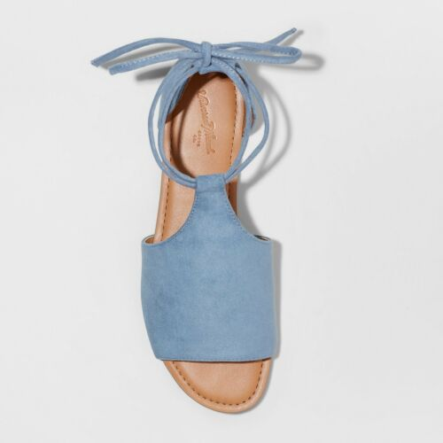 Universal Thread™ Blue Size 10 NWT Women/'s Aileen Lace Up Slide Sandals