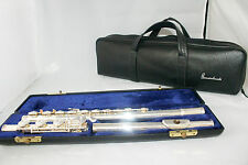 Estate Gemeinhardt Solid Silver 3SB Flute Custom Elkhart Indiana Estate in Case