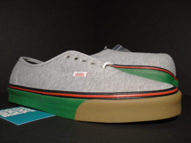 048d38cdd8c2 2014 VANS Authentic LX Bodega BDGA 06 Fleece Drizzle Grey Green Vn-0sfgg20  11.5 for sale online