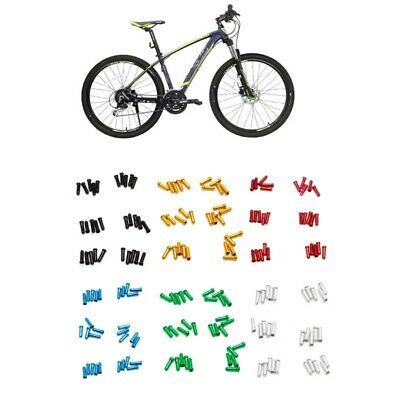 60x Bicycle V Brake Wire End Core Cap Cable Bicycle Cable Donuts Bikes Parts
