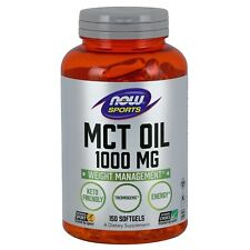 Now Foods MCT Oil 1000 MG - 150 Softgels