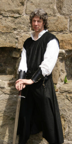 MEDIEVAL-LARP-SCA KNIGHTS LONG SURCOAT in All Sizes//Colours