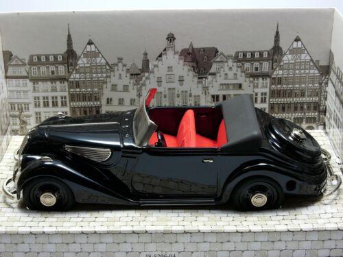 Schuco BMW 327 Cabrio schwarz 1:18 # 00014