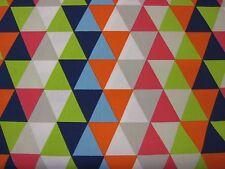 """HARLEQUIN  CURTAIN FABRIC DESIGN  """"Kaleidoscope"""" 1.9 METRES  BRIGHT MULTI"""