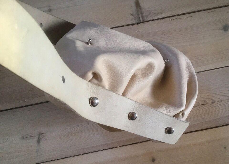 Skuldertaske, andet mærke, læder