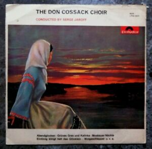 Very-Rare-The-Don-Cossack-Choir-Conducted-by-Serge-Jaroff-Vinyl-LP-Album