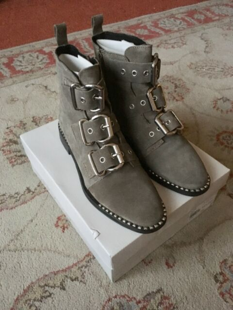 1b0781ad2253 Topshop Alfie Buckle Ankle BOOTS Size 7 BNWB for sale online | eBay