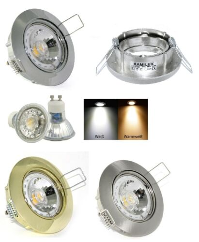 Decken Rahmen Lisa 230V COB 5 Watt = 50 Watt Power Led GU10 Spot