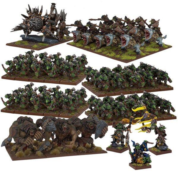 Duende Mega Force-Reyes De Guerra-Mantic Games-Orcos y Goblins