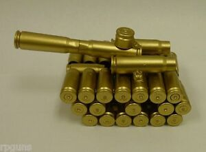 New-Tank-made-from-Bullet-Casings-Unique-Rare-Model-Paperweight-Bullet-Tank-2