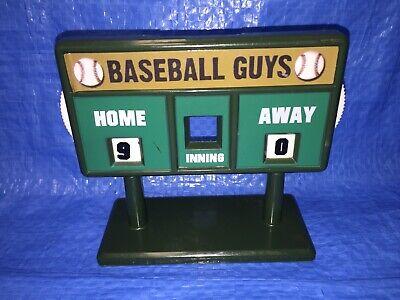 Miniature Baseball Field Scoreboard for Baseball Action Figures