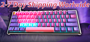 Tfue-Neon-Rubber-Gaming-Keycaps-18-Back-lit-amp-4-Blank-Fortnite-Rubberized-FaZe
