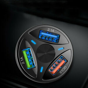 3-Port-Usb-Coche-Cargador-Adaptador-de-pantalla-LED-QC-3-0-accesorios-de-coche-de-carga-rapida