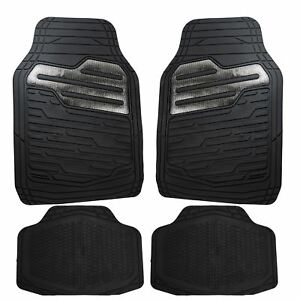 Heavy-Duty-Rubber-Floor-Mats-Set-with-Carbon-for-Ford-Focus-Fiesta-C-Max-Kuga